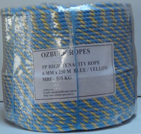 Paramatta rope - 6mm x 250m